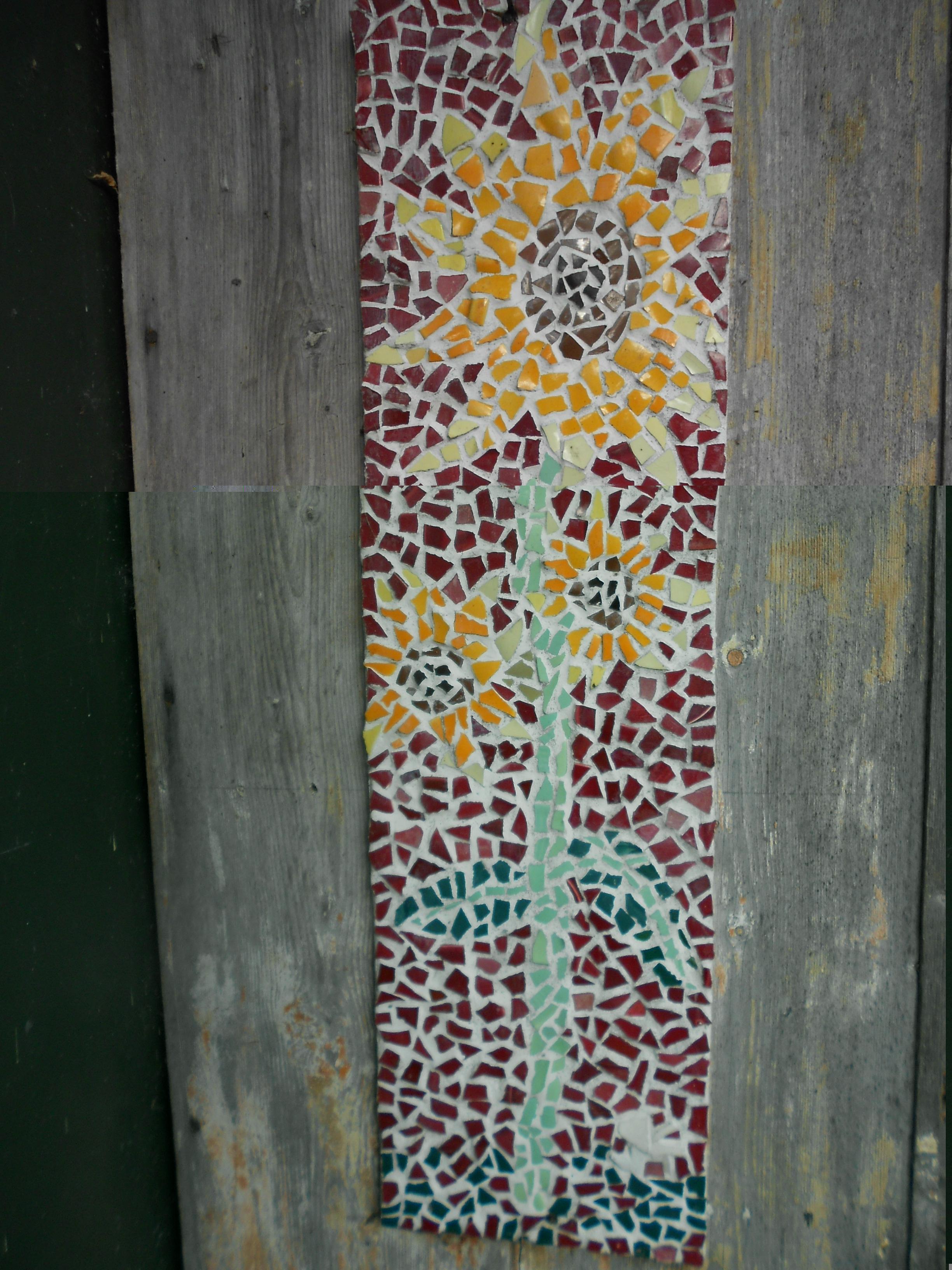mozaiek zonnebloem