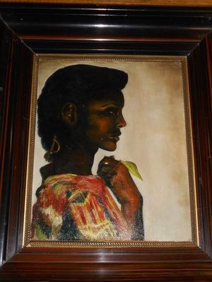 zwarte vrouw